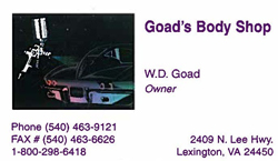Goad's Body Shop